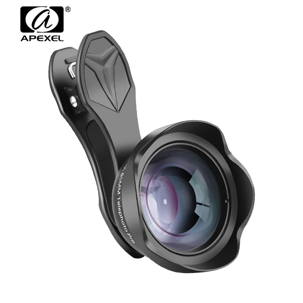 reputable site 8b910 d0201 APEXEL 65mm Wide-angle Phone Lens Telescope Zoom Portrait Lens with ...