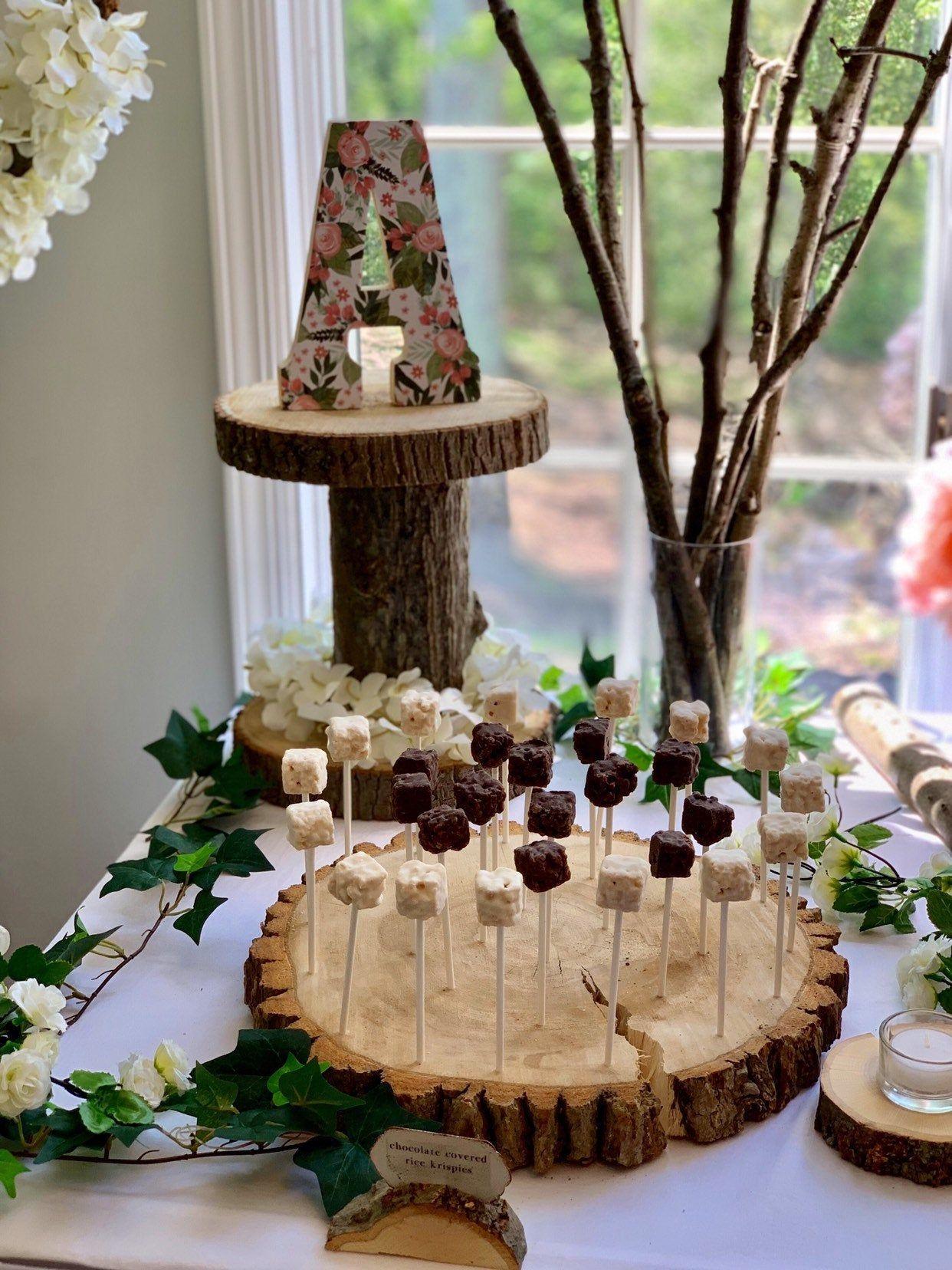 cake pop display ideas baby shower