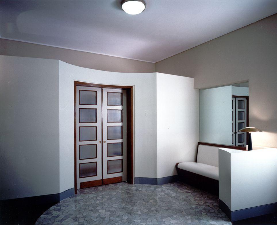 Gi ponti architetto appartamento sullla palazzina for Architetto interni roma
