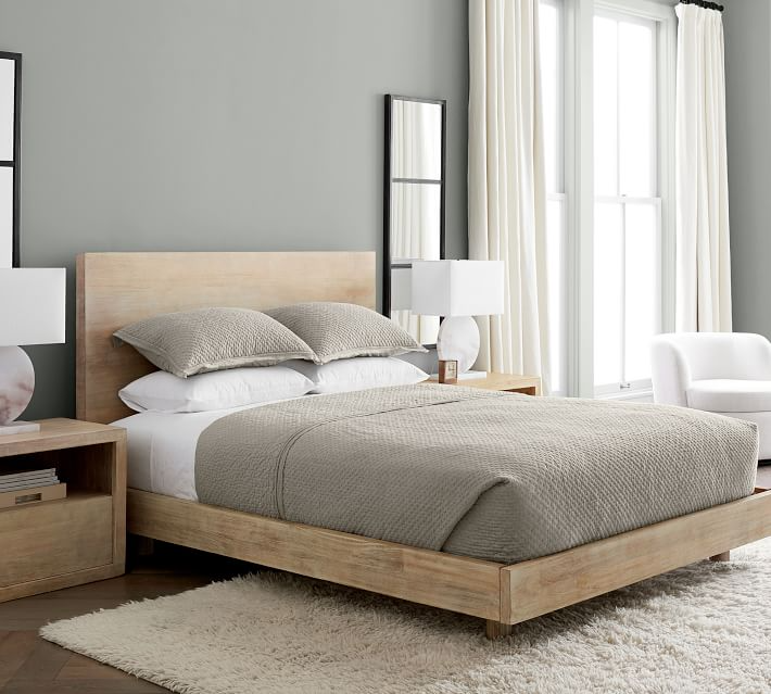 Cayman Platform Bed & Headboard