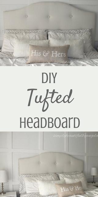 Diy Upholstered Tufted Headboard Diy Tufted Headboard Headboard