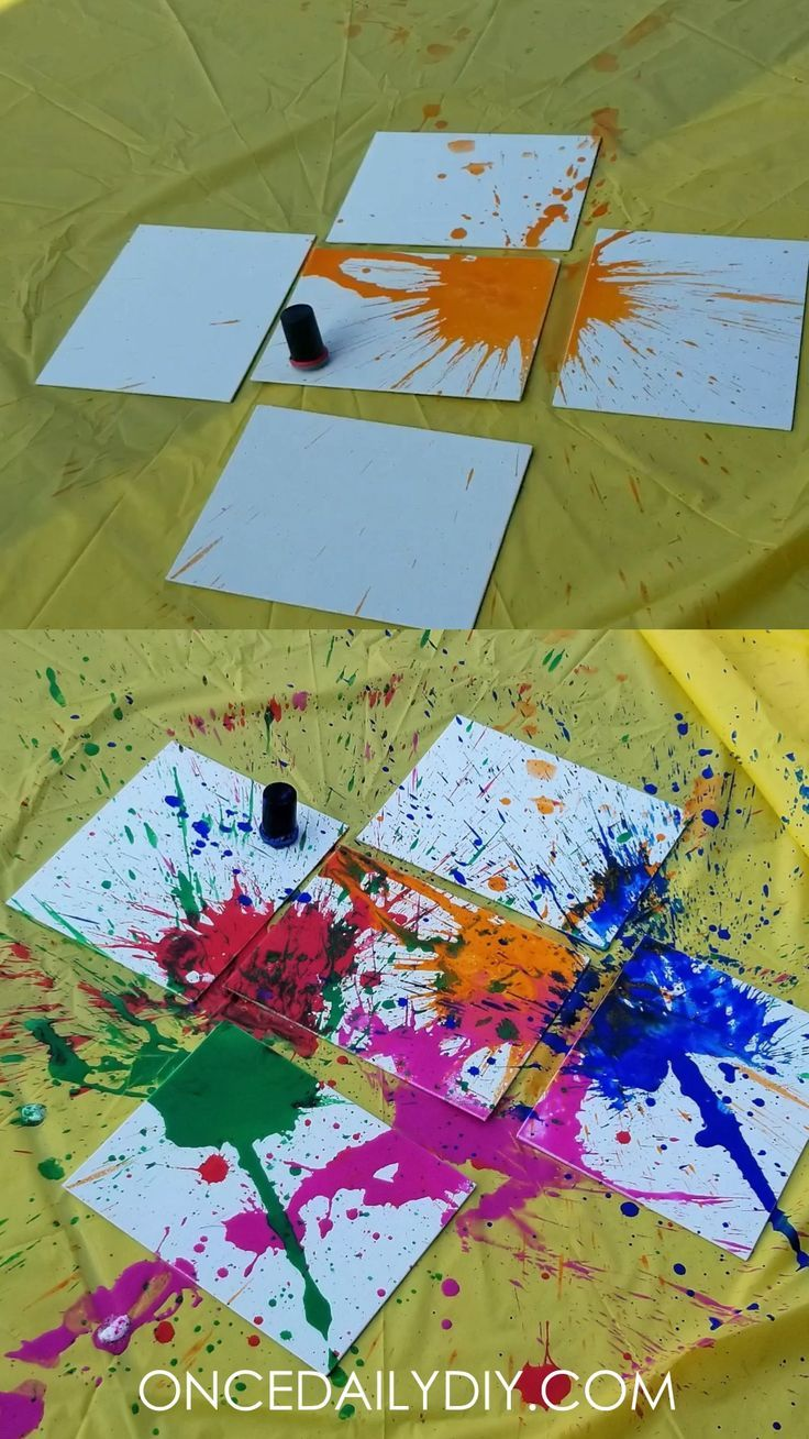 Explodierende Paint Craft mit Alka Seltzer  Keeping the Little Ones Busy