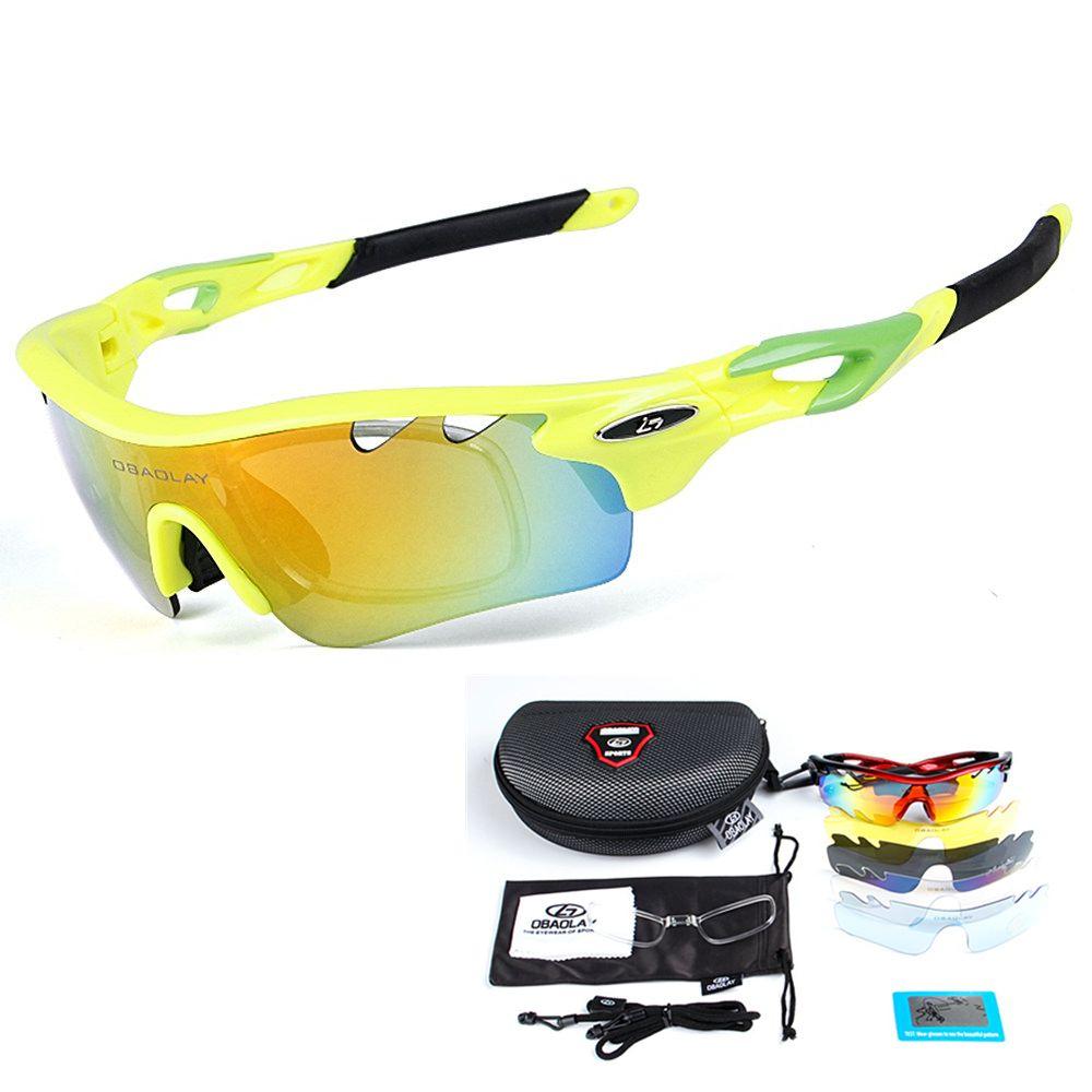 Polarized Cycling Sunglasses Men Bike Glasses Sport Bicycle