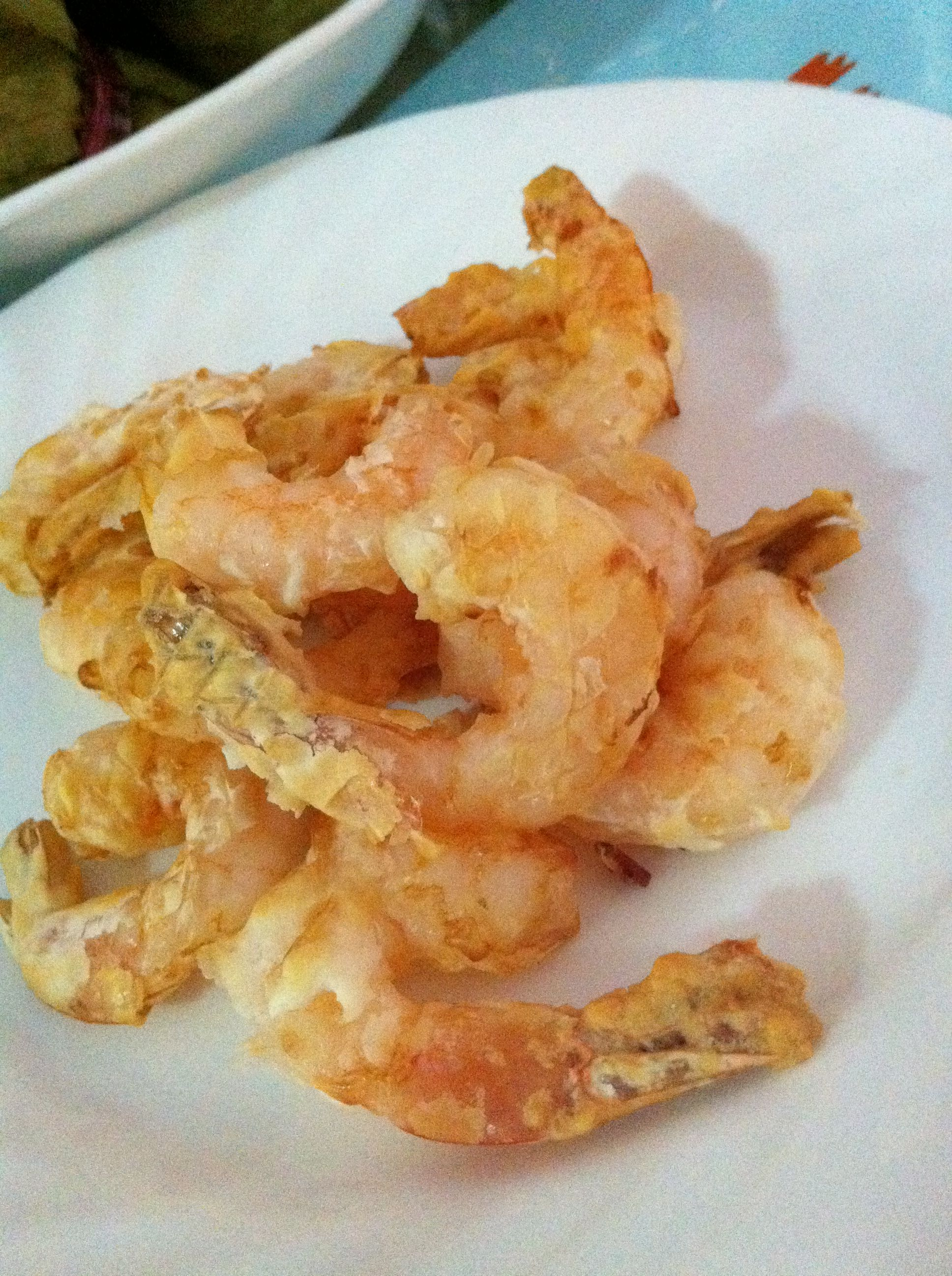 Exclusively food tempura prawns recipe airfryer directions air fry prawn fritter forumfinder Gallery