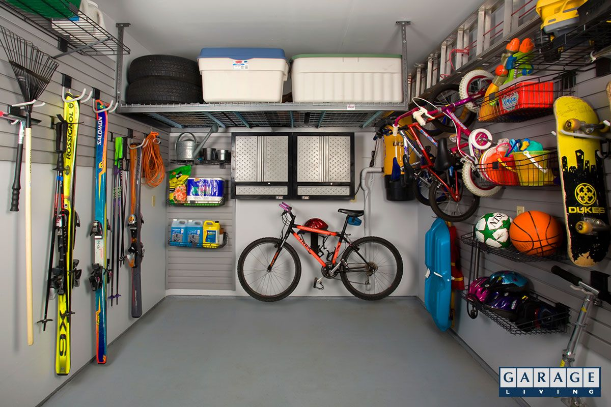 Our PVC slatwall panels utilize the storage space on your garage walls to increase your usable floor space. Available in 6 colours. & Our PVC slatwall panels help you find more space in garage. 6 ...
