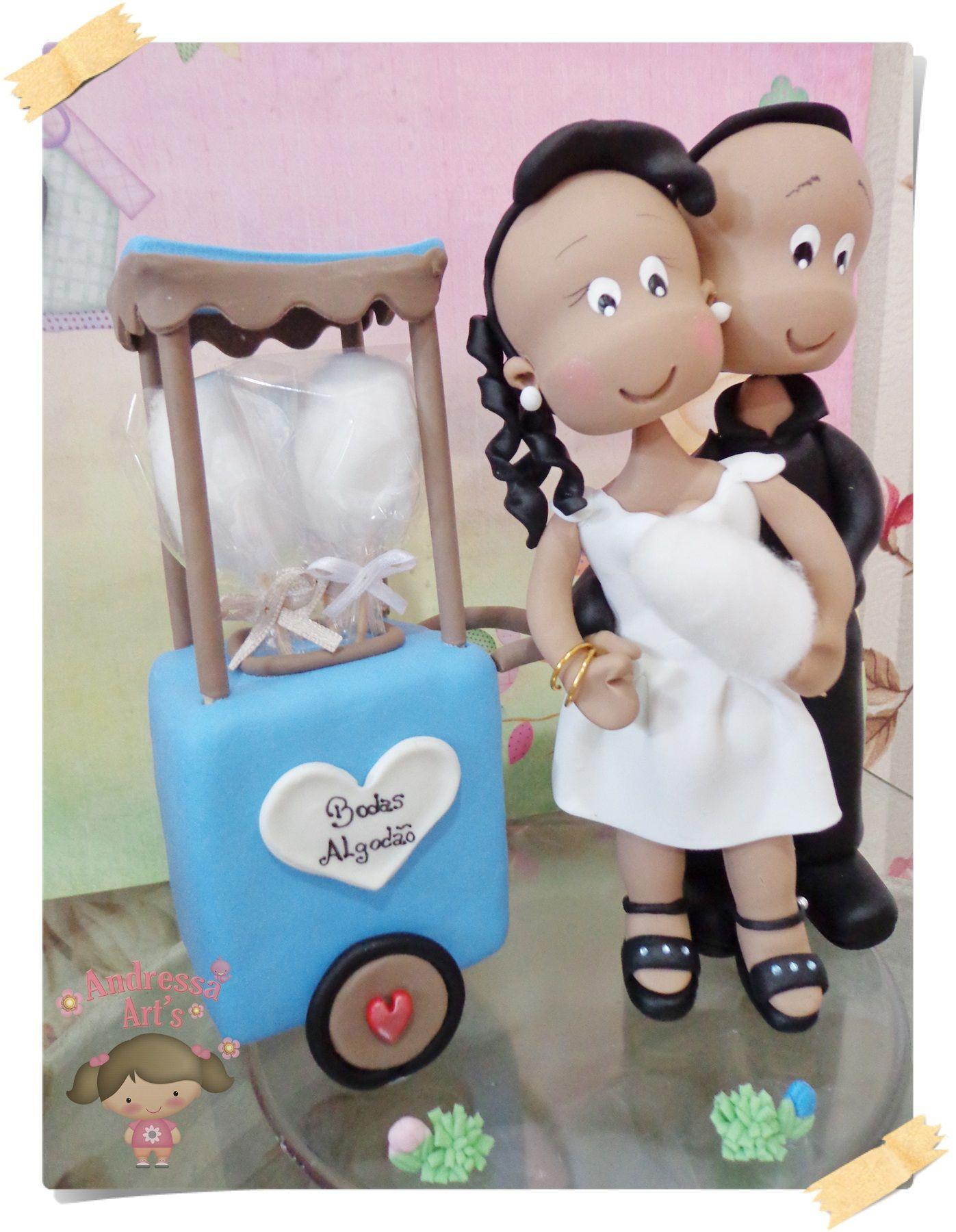 lembranças para casamento em biscuit - Pesquisa Google