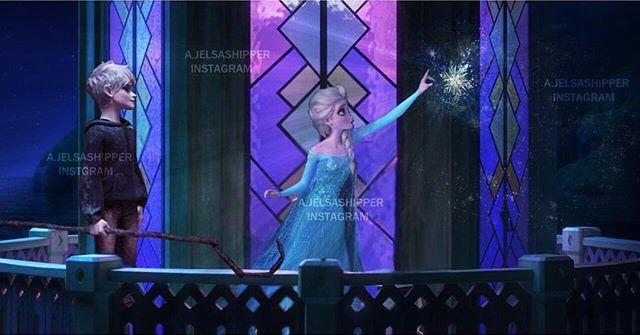 Jack Frost Snowflake Blue Dress.
