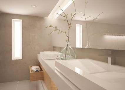 62+ new ideas for bathroom beige white modern master bath