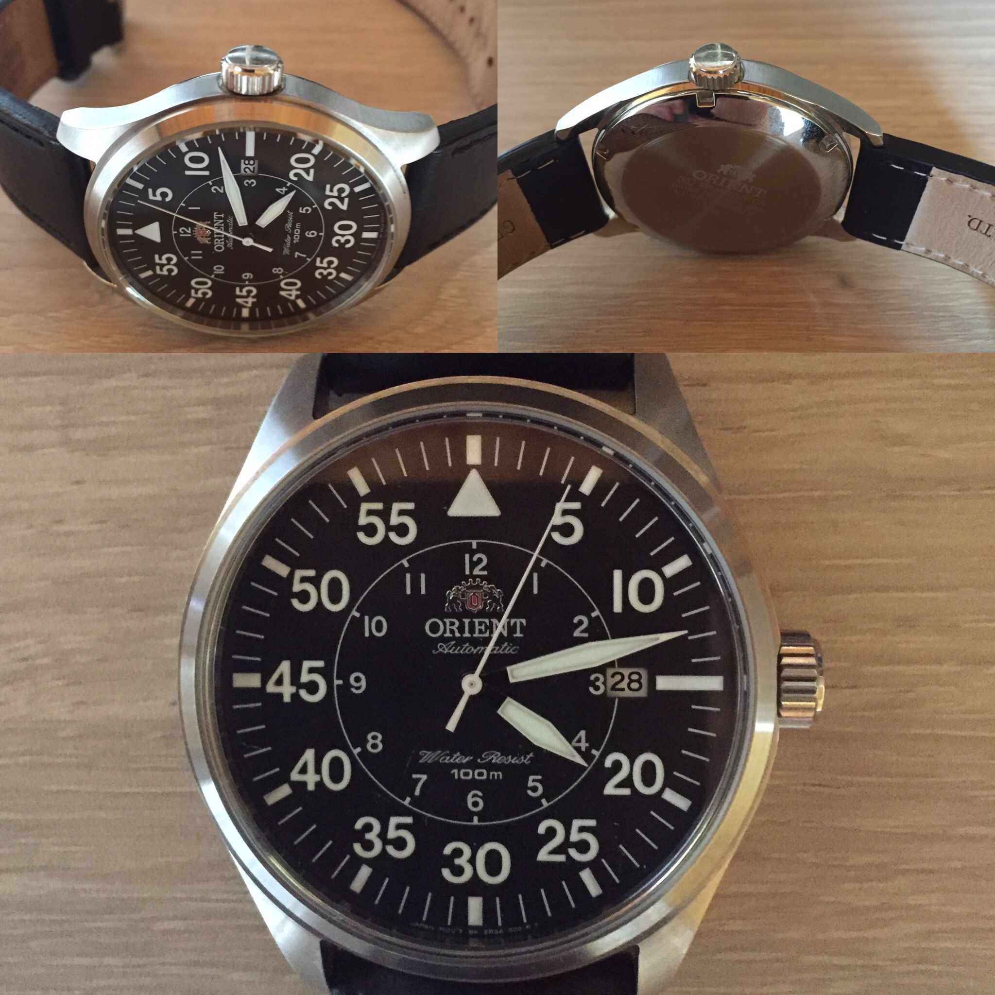 Orient flight flieger automatic pilot watch