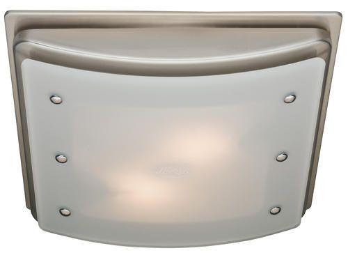 Hunter Ellipse Brushed Nickel Bath Fan At Menards Bathroom