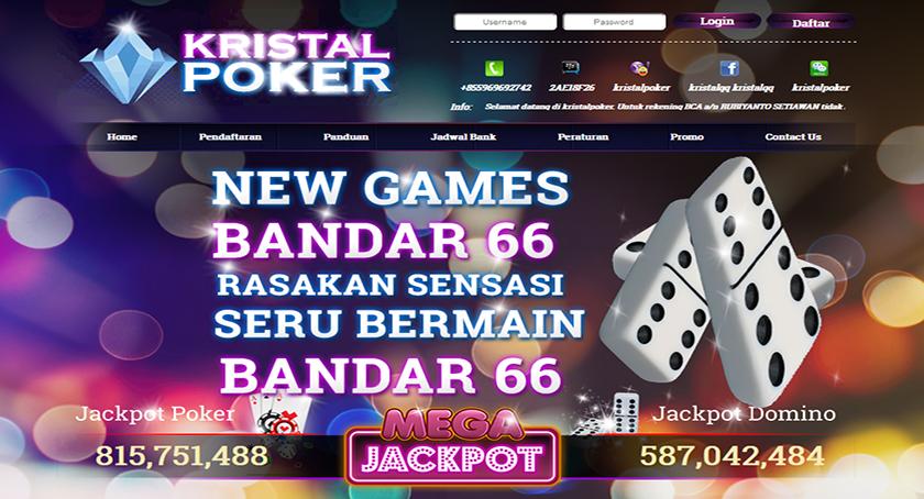 KristalPoker Situs Poker Online Terpercaya di Indonesia