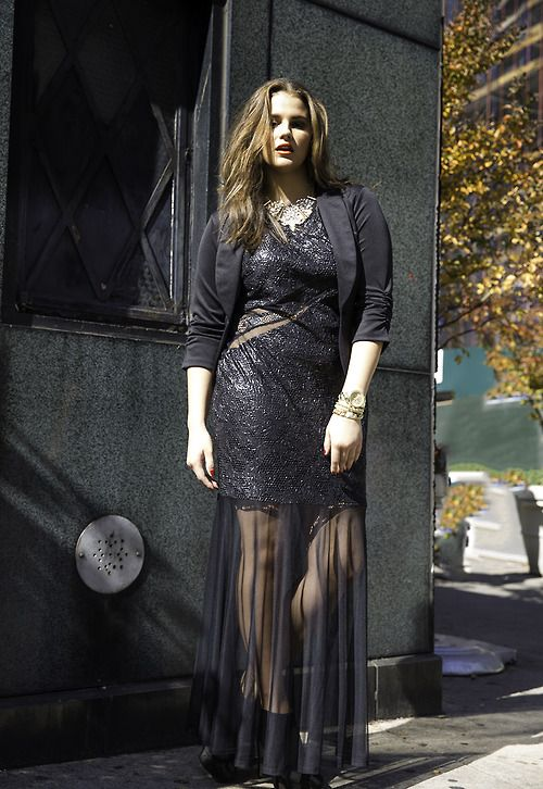 5bac9aa8970 Plus Size Holiday Look - Fashion to Figure