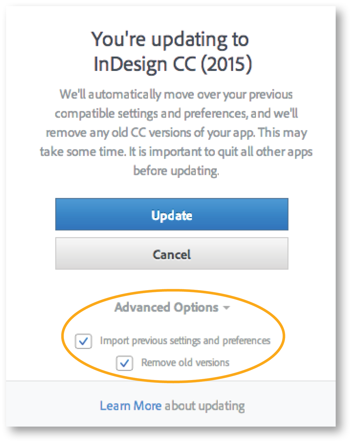InDesign CC Tip Install CC 2015 Apps and Keep Older