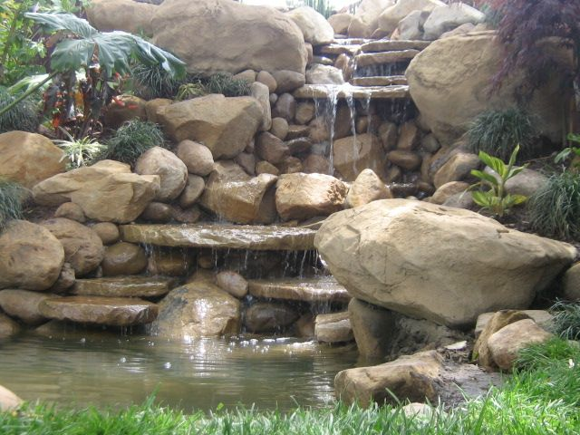 Small Pond Waterfall Ideas Small Waterfall And Pond In
