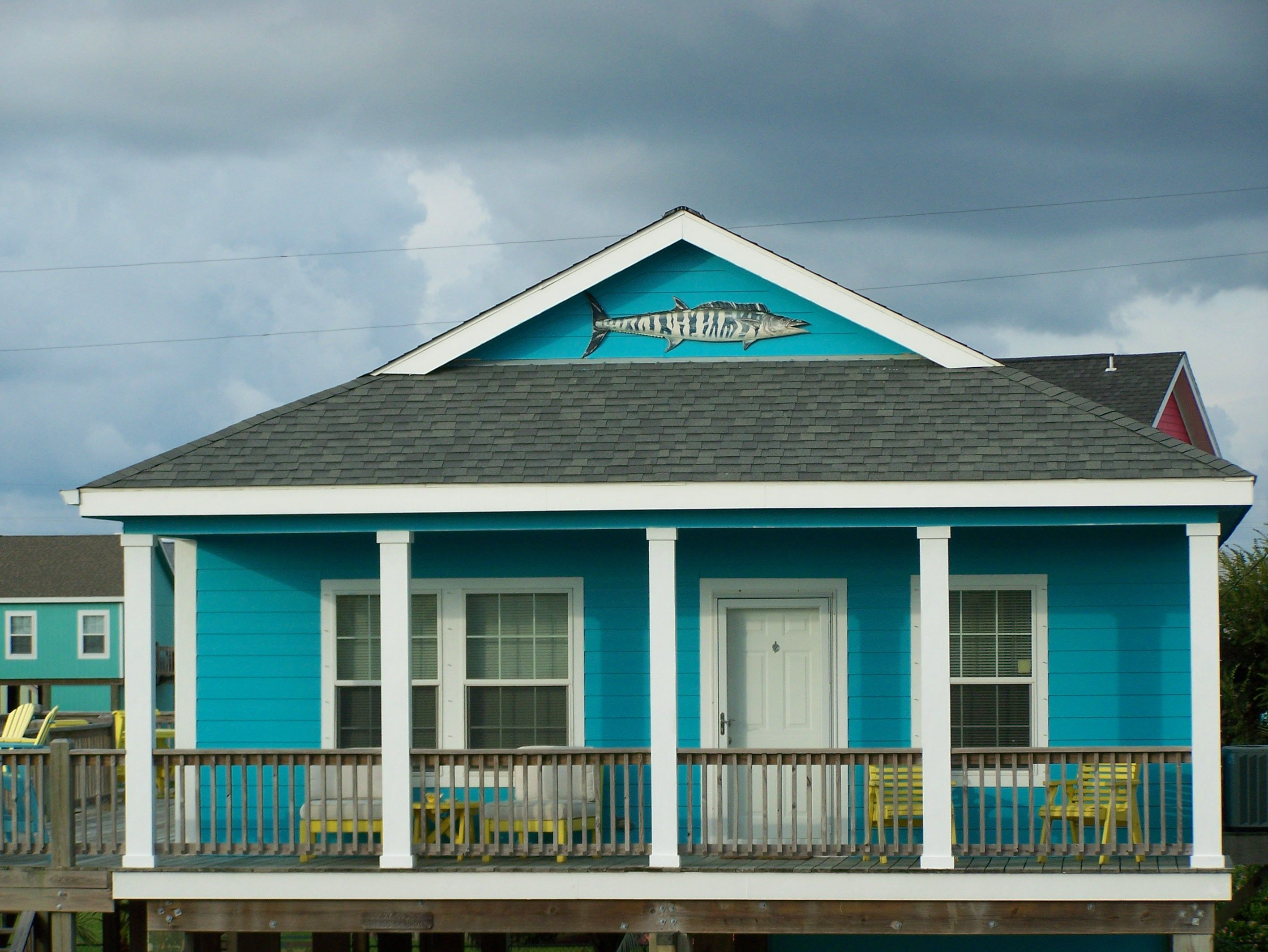 New paint - Sherwin Williams Calypso blue  | Home by the Sea