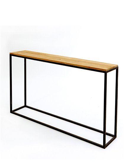 schlankes design flexibel einsetzbar konsolentisch teaktop modern zeitlos top preis nur bei. Black Bedroom Furniture Sets. Home Design Ideas