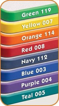 Activity Table edgeband colors available