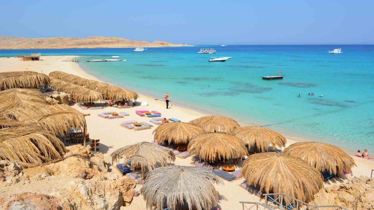 Of Anic Spa And Aqua Park Hurghada Egypt Beach Golden In
