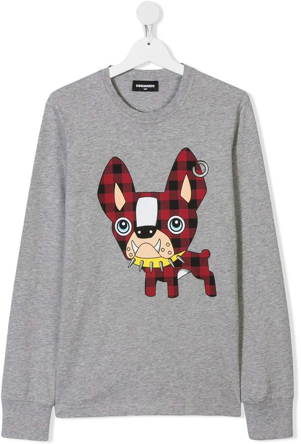 e304248151f DSQUARED2 dog print sweatshirt Kids Clothes Boys