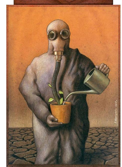Mother Nature 'artificialized' #Monsanto