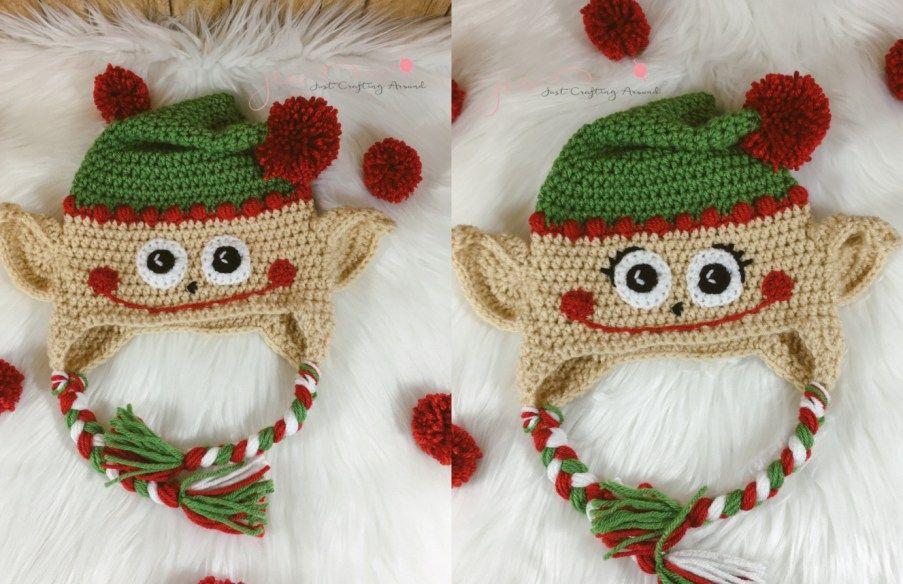 Crochet Elf Hat Pattern Crochet Pinterest Elf Hat Unique And