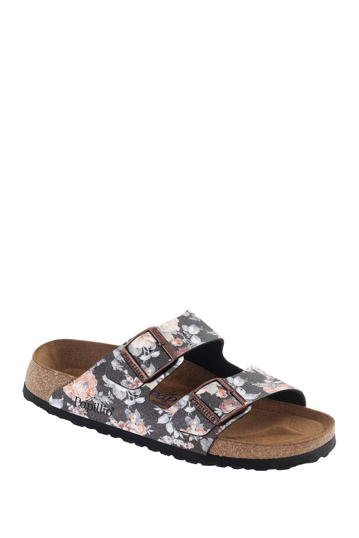 Arizona Fl Print Slip On Sandal By Birkenstock Hautelook