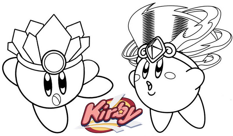 Tornado From Kirby Coloring Page Coloring Pages Coloring Books Kirby
