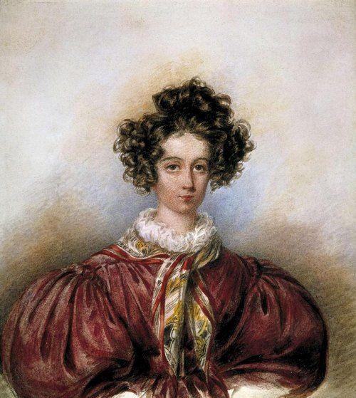 Le Berry Patrie De George Sand Portraits Peinture Sable Et