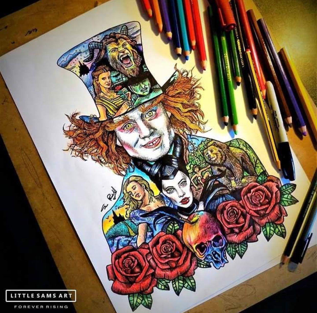 Alice No Outro Lado Do Espelho Desenhos Kawaii Desenhos