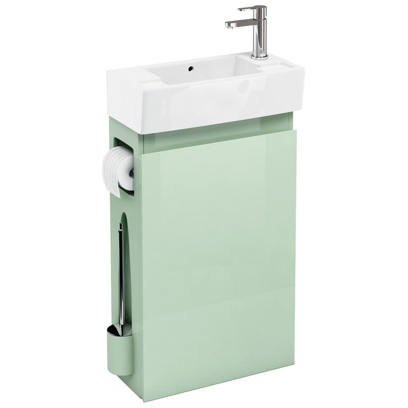 All In One Including Br Brush Toilet Paper Holder And Sink