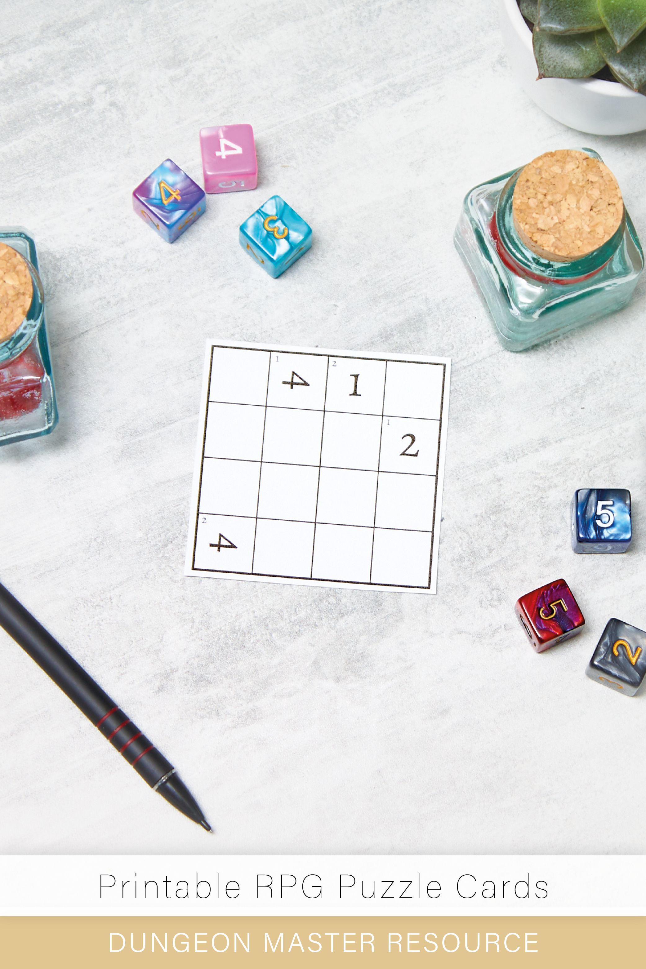 Dice Lock Pick Puzzle Squares Minigame Tabletop Gaming Logic Challenge Dungeons And Dragons D D Pathfinder Tabletop Rpg In 2020 Puzzles And Dragons Puzzle Solving Puzzle