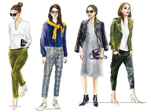 換季就這樣穿!秋天最具代表性的15種時尚穿搭…