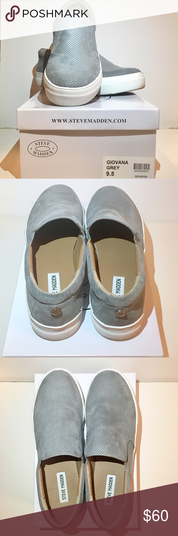 824fb8aa1a6 Steve Madden Giovana Slip-ons Excellent condition