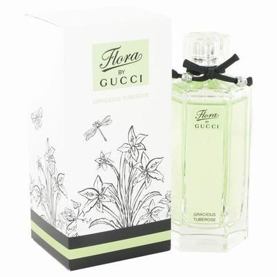 Flora Gracious Tuberose by Gucci Toilette Spray 3.3 oz