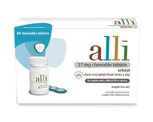Alli Is The Only Otc Drug For Weight Loss That Is Fda Approved It