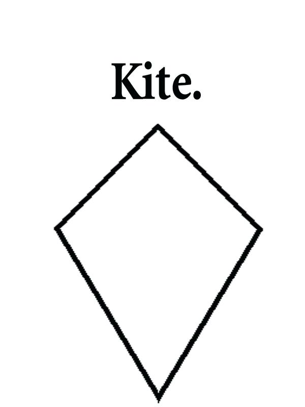 Picture 2882871 Kite Clipart Different Shape Clip Art Kite Shapes
