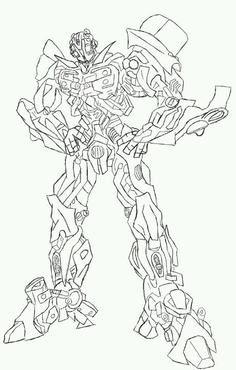 Transformers Coloring Page Transformers Coloring Pages Coloring Pages Colorful Pictures