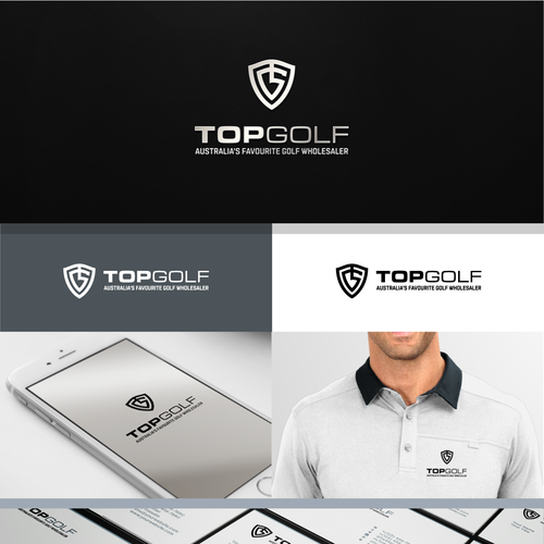 Top Golf Logo Needed For Wholesale Golf Company We Are A Wholesale Golf Company That Sells Into Golf Courses And Reta Golf Logo Geometric Logo Sports Logo