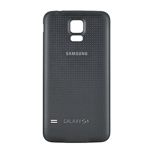 Samsung Logo (No carrier logo) Compatible: Galaxy S5 Color: Black