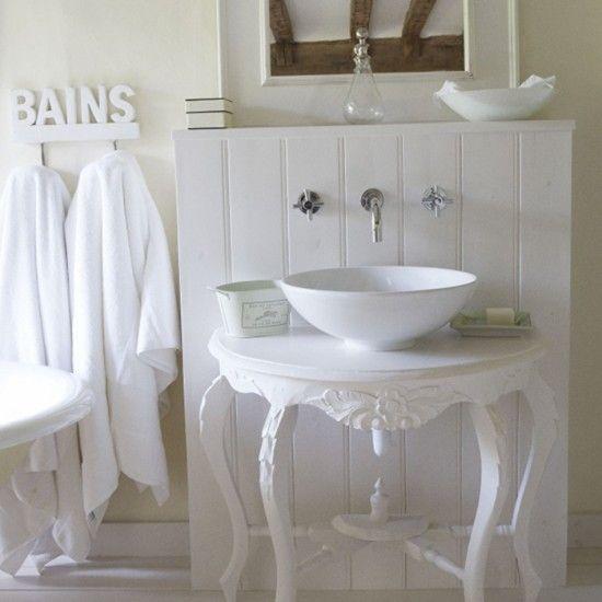 Einfache Land-Badezimmer Wohnideen Badezimmer Living Ideas Bathroom ...