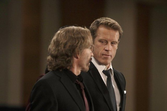 Still Of Jackie Earle Haley And Mark Valley In Human Target