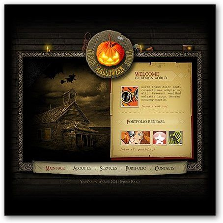 halloween flash template 3 a spooky season pinterest flash