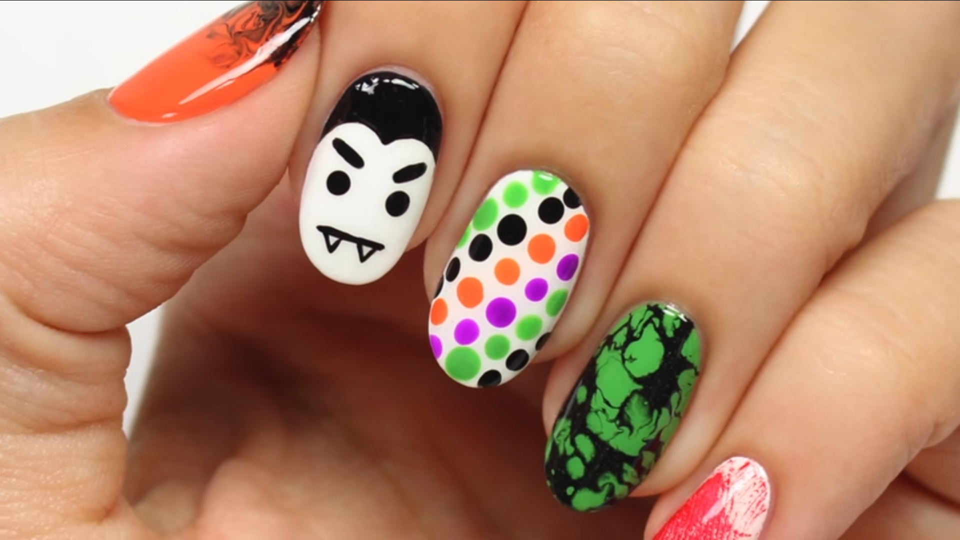 5 quick halloween nail ideas for the polish impatient | halloween