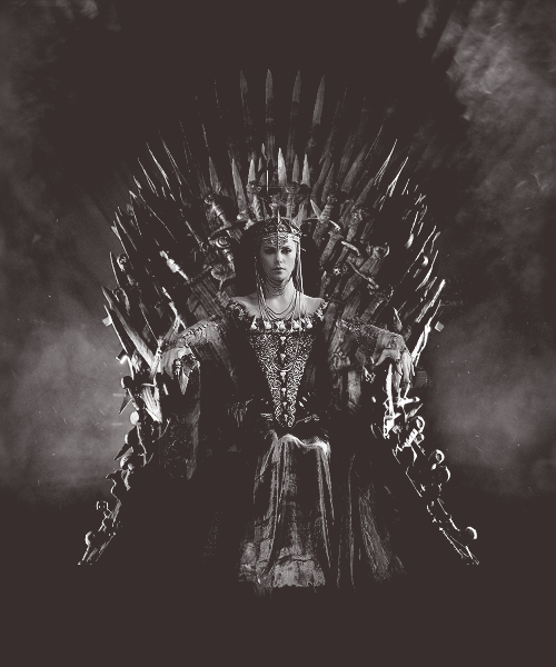 Queen Ravenna http://movieenthusiast.tumblr.com/post/24026258182/queen-ravenna-from-snow-white-and-the-huntsman-on