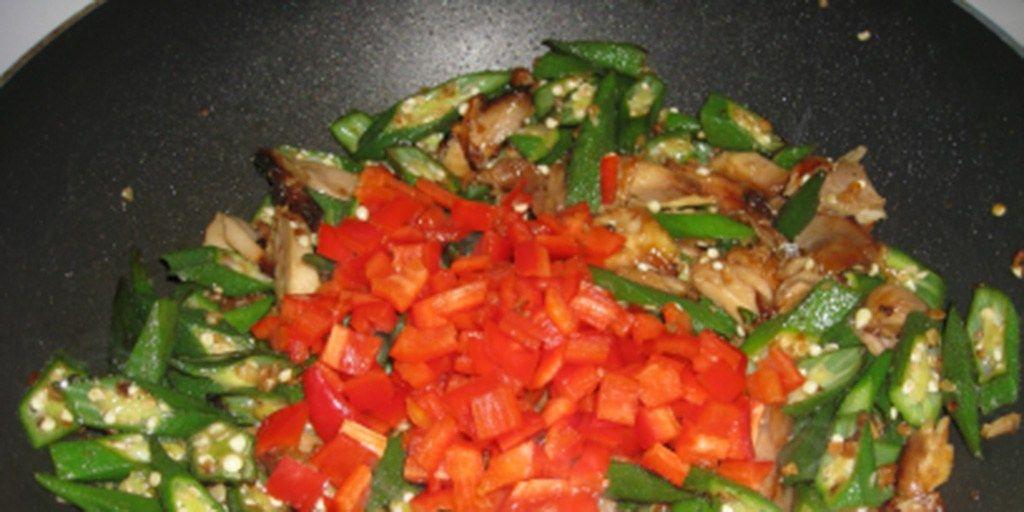 Okrahoma Chinese Chicken Stir Fry