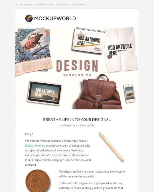 Mockup World Newsletter Design Example Proyek untuk Dicoba - example of a news letter