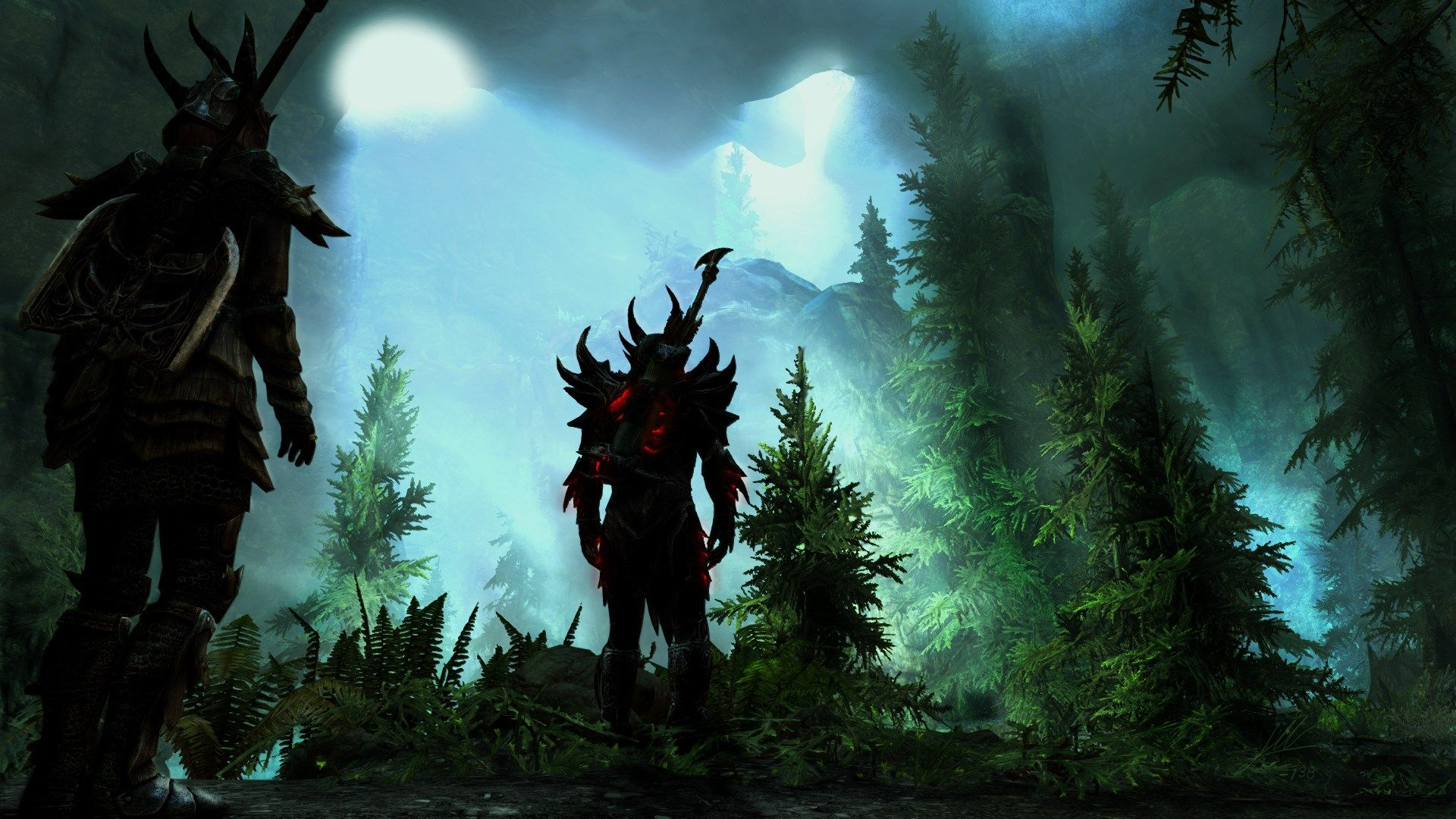 1920x1080 Widescreen Wallpaper The Elder Scrolls V Skyrim Con