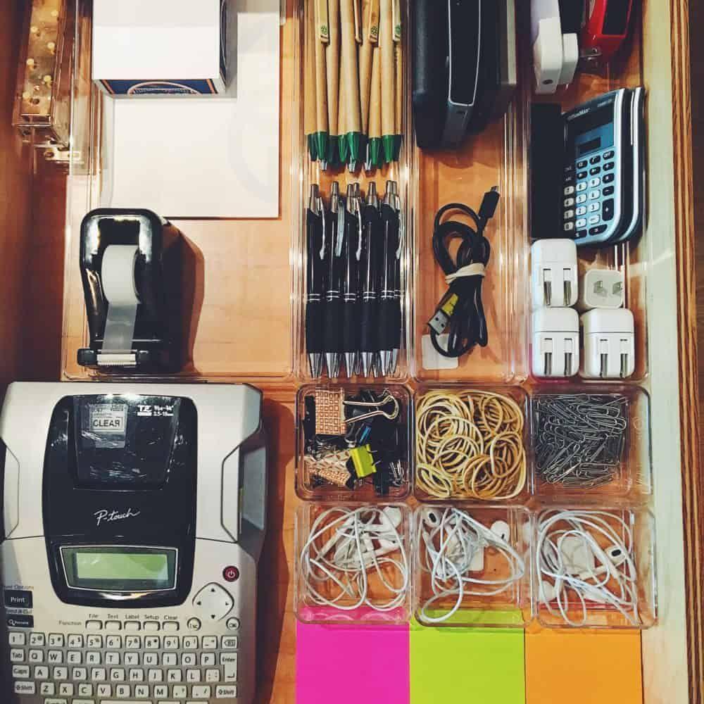 Drawer Organizers Junk drawer organizing, Office supply