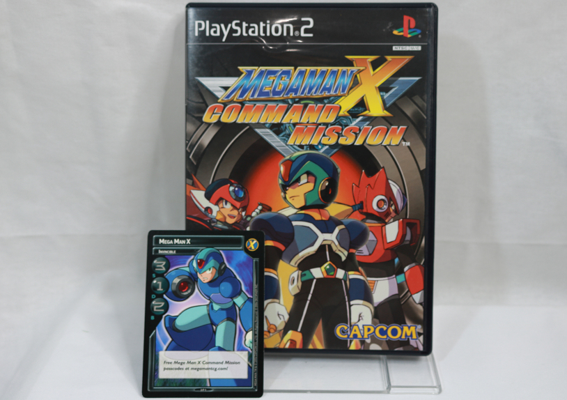 Mega Man X Command Mission For The Ps2 Had X Trading Card Included Mega Man Trading Cards Cards
