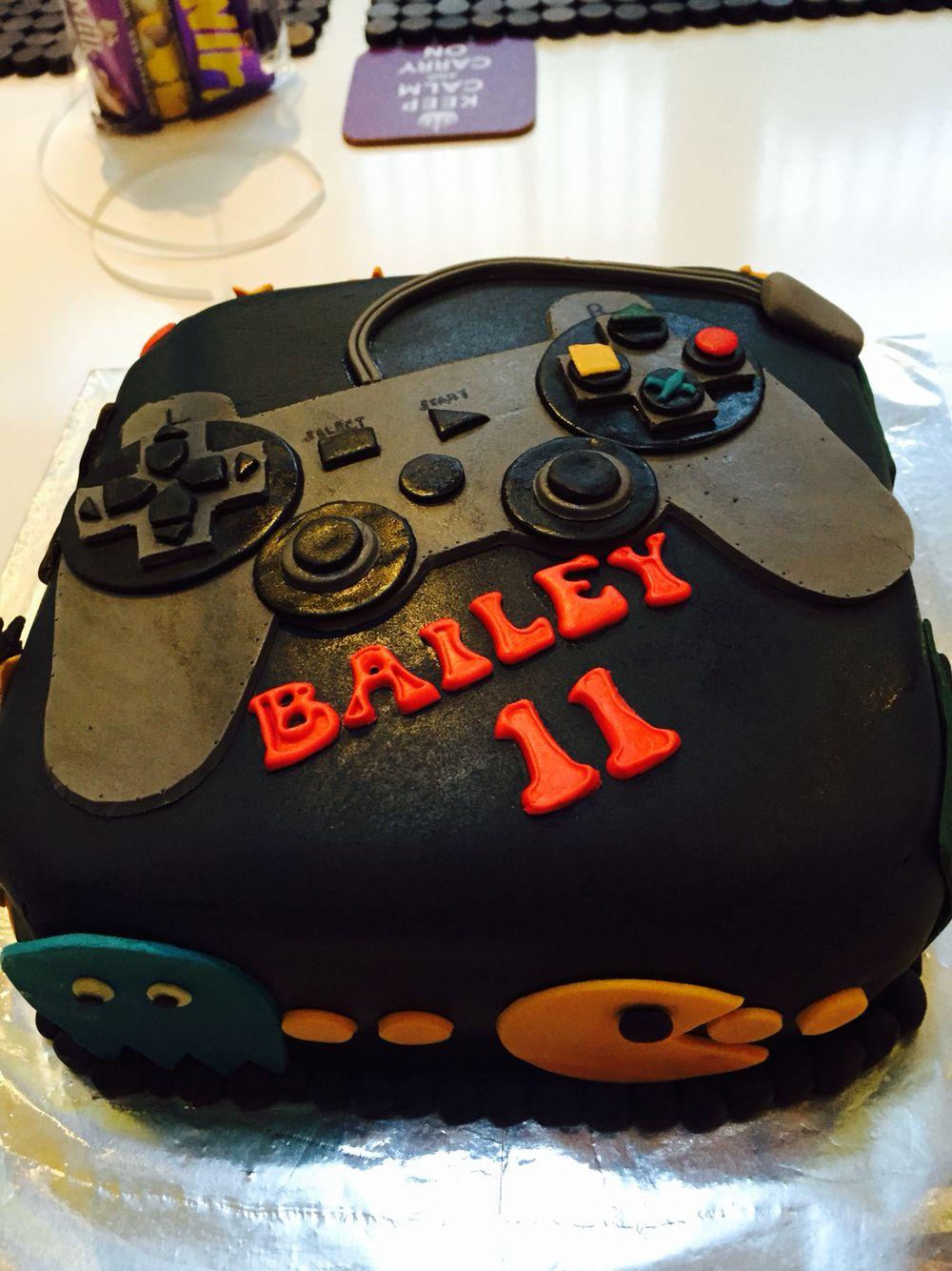 Gaming birthday cake bakery cakes cake no bake cake